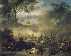 Jean Marc Nattier: Die Schlacht von Lesnaja