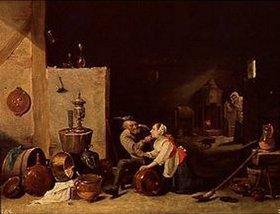 David Teniers: Der Alte und die Magd