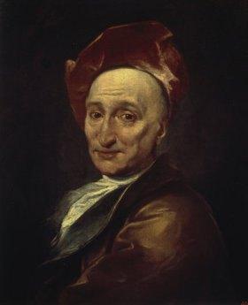 Hyacinthe Rigaud: Bildnis des Schriftstellers und Philosophen Bernard Bovier de Fontenelle