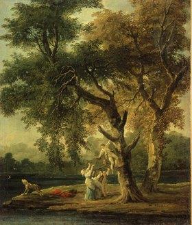 Hubert Robert: Die Nesträuber. 1780-er Jahre