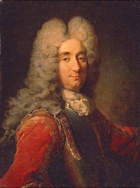 Robert Tournieres: Bildnis eines Mannes mit Perücke