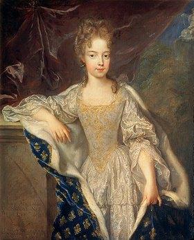 Francois de Troy: Bildnis der Adelaide von Savoyen