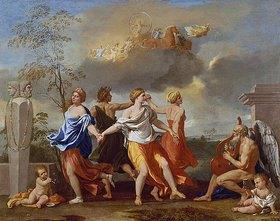 Nicolas Poussin: Il Ballo della Vita humana (Allegorie auf das menschl.Leben). 1638-1640 für Clemens IX entstanden