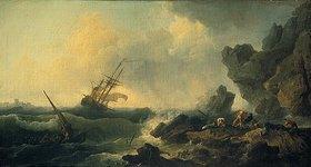Claude Joseph Vernet: Stürmische See