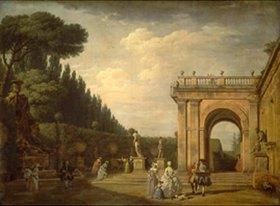 Claude Joseph Vernet: Im Park der Villa Ludovici in Rom