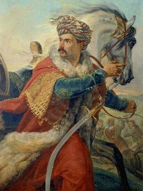 Emile Jean Horace Vernet: Mameluke mit Pferd. Gegen