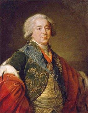 Elisabeth-Louise Vigée-Lebrun: Bildnis des Vizekanzlers Prinz A. Kurakin (1752-1818)