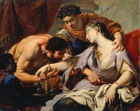 Simon Vouet: Königin und Sklave. (Schule Vouet Simon)