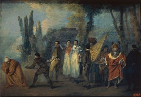 Jean Antoine Watteau: Satire gegen die Ärzte