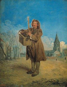Jean Antoine Watteau: Ein Savojarde mit Murmeltier