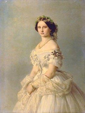 Franz Xaver Winterhalter: Bildnis der Prinzessin von Baden