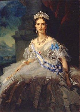 Franz Xaver Winterhalter: Bildnis der Prinzessin T. A. Jussupov