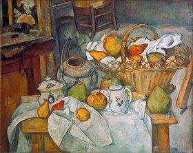 Paul Cézanne: Stilleben mit Obstkorb