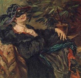 Lovis Corinth: Frau mit Maske