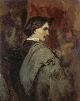 Anselm Feuerbach: Selbstbildnis