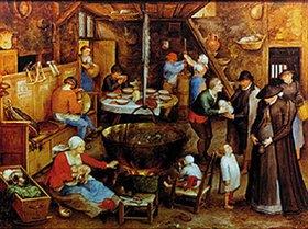 Jan Brueghel d.Ä.: Besuch auf dem Pachthof