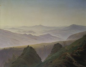 Caspar David Friedrich: Morgenstimmung in den Bergen. 1823 (?)