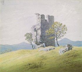 Caspar David Friedrich: Die Ruine von Schloss Teplitz