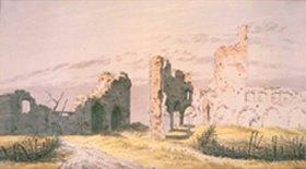 Caspar David Friedrich: Ruinen des Klosters Eldena