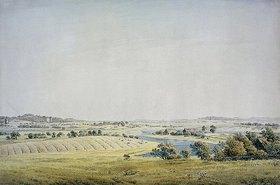 Caspar David Friedrich: Tal oberhalb von Putbus (Rügen)