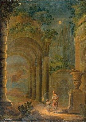 Adam Elsheimer: Abendliche Ruine