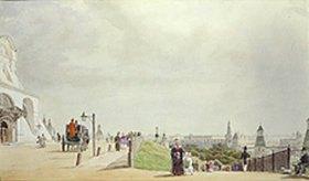 Johann Philipp Eduard Gaertner: Im Moskauer Kreml