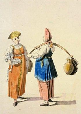Christian Gottfried Geissler: Marktfrauen III