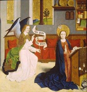 Deutsch: Verkündigung Mariae (um 1470/1480)