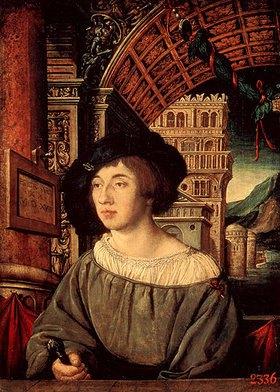 Ambrosius Holbein: Bildnis eines Mannes