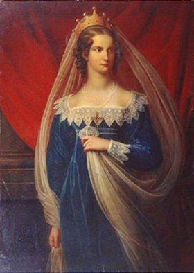 Gerhard Franz von Kügelgen: Bildnis der Prinzessin Charlotte von Preussen (1798-1860)