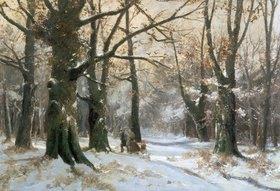 Adolf Kaufmann: Heimkehr durch den Winterwald