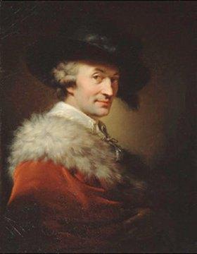 Johann-Baptist I Lampi: Bildnis des Architekten La Tour