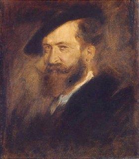 Franz von Lenbach: Bildnis Wilhelm Busch (1832-1908)