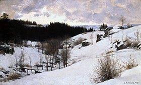 Erich Kubierschky: Winter im Riesengebirge