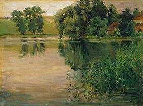 Wilhelm Trübner: An einem kleinen See