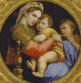 Raffael (Raffaello Sanzio): Die Madonna della sedia