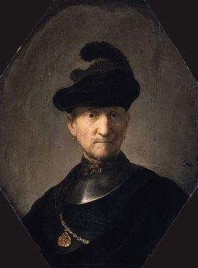Rembrandt van Rijn: Ein Offizier