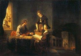 Rembrandt van Rijn: Christus bei Maria und Martha