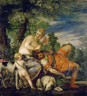 Paolo (Paolo Caliari) Veronese: Venus und Adonis
