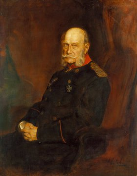 Franz von Lenbach: Bildnis Kaiser Wilhelm I