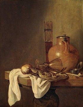Abraham van Beyeren: Frühstücks-Stillleben