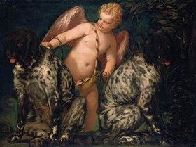 Paolo (Paolo Caliari) Veronese: Amor mit zwei Hunden. Nach