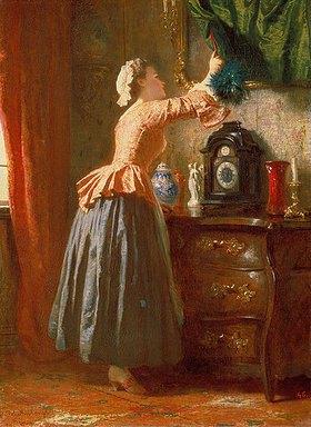 Wilhelm Amberg: Das Dienstmädchen