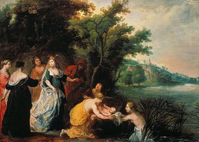 Hendrick van Balen: Die Tochter des Pharaos