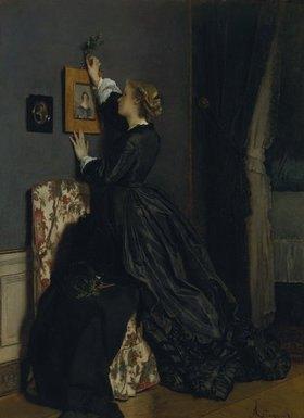 Alfred Stevens: Im Boudoir. Um 1865(?)