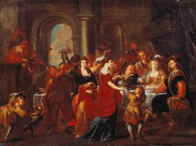 Abraham van Diepenbeeck: Das Festmahl des Herodes