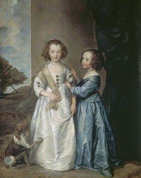 Anthonis van Dyck: Die Schwestern Philadelphia und Elisabeth Wharton
