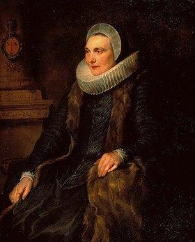 Anthonis van Dyck: Bildnis der Maria Bosschaert