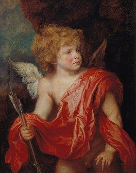 Anthonis van Dyck: Amor mit den Liebespfeilen