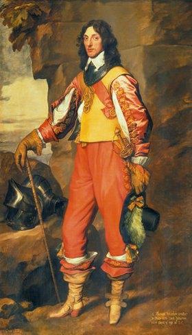 Anthonis van Dyck: Bildnis von Sir Thomas Wharton. 1630er Jahre